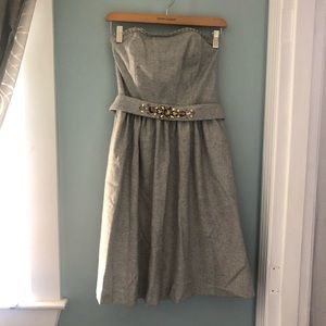 Wool party dress